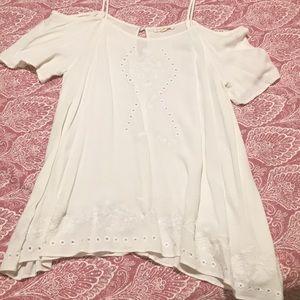 LA Hearts flowy shirt